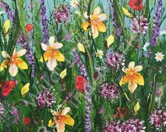 Wild Iris 1 - Giclee Print