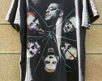 VINTAGE Rammstein Shirt - large - death metal - rock - rocker - metal- rock n roll - band shirt - concert shirt - distressed - grunge -