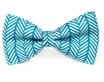 Zig Zag Bow Tie, Boys Bow Tie, Dog Bow Tie, Mens Bow Tie, Toddler Bow Tie, Fun Bow Tie, Bow Tie for Boys, Bow Tie for Dog
