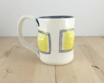Yellow Bubble Coffee // Tea Cup