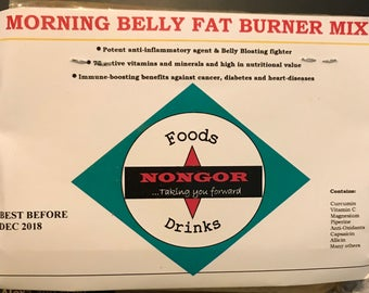 Morning belly Fat Burner