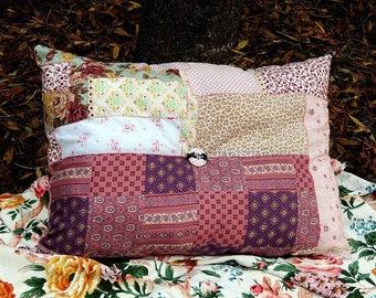 """Large decorative pillow, pillow """"Caravan"""", Bohemian pillow, cushion atmosphere"""