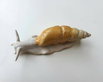 Ceramic Land Snail