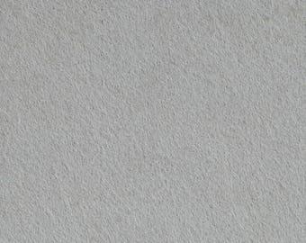 Craft FELT sheet grey,  7.5 inch x 11.5 inch, 19 cm x 29 cm, dikte 1,5 mm The Weavers Mill