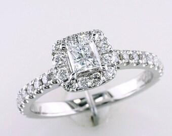 Neil Lane Engagement Ring 3/4 ct tw Diamonds 14K White Gold