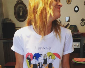 I MISS FRIENDS tee