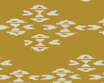 Observer - Overshot Gold - April Rhodes - Art Gallery Fabrics - Fabric By the Half Yard