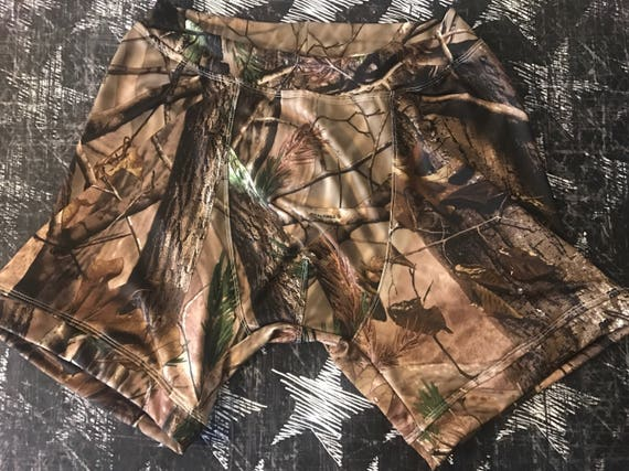 Men's Boxer Briefs - Camoflauge Made to order Custom