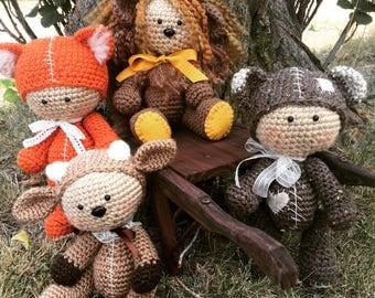 Artist Bear - Artist Teddy - Handmade Bear - Handmade - Teddy Bear - Collectible - Teddy Fox - Teddy Skunk - Doll - Turtle - Dragon - Deer