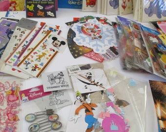 Disney Scrapbook Items 7 lbs