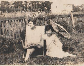 FREE POST - Old Postcard - Real Photo Postcard  - Vintage Postcard - Unused