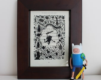 Adventure Time Book Print