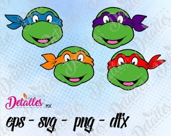 Teenage mutant ninja turtles tmnt clipart SVG Cutting Vector Eps High Quality design files ai eps for Cricut and Silhouette Cameo