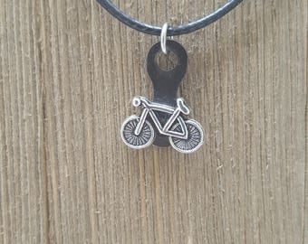 Bicycle Necklace - Bike Necklace - Bicycle Jewelry - Bicyclist Gift
