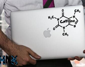 macbook decals / mac stickers / laptop decal /coffee fans decal / coffee /  204