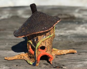 Adult and youth class: Fairy House