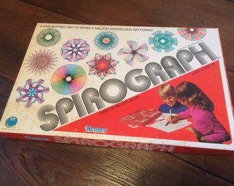 Vintage 1976 Spirograph by Kenner-Original Box