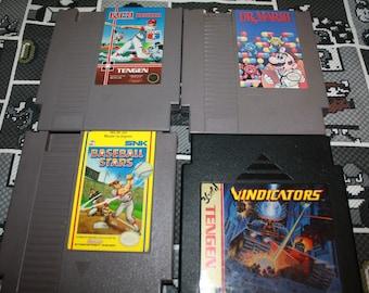 Nintendo Game - RBI Baseball - Dr. Mario - Baseball Stars - Vindicators- Original Nintendo - NES Game of your choice