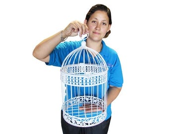 Wire Bird Cage - LARGE - Set of 2 different sizes (1)