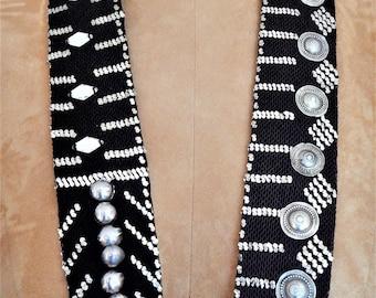 Assuit Belt, Little Black Dress, Vintage, Performance Wear, Stage Wear, Street Wear, Tribal Fusion, Belly Dance