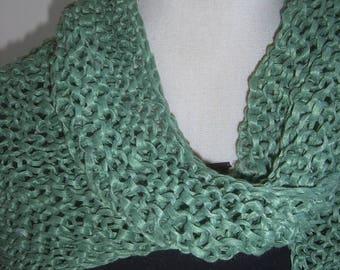 Nice oversize shawl handmade
