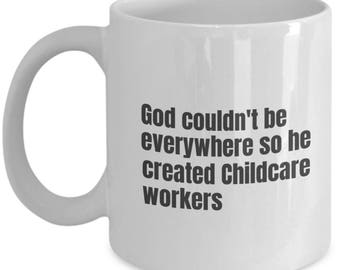 Childcare Worker funny mug, Childcare Worker funny mug, Childcare Worker, gift idea