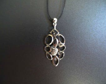 Silver metal Flower Adornment