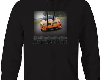 American Muscle Pontiac New GTO Modern Hotrod Hooded Sweatshirt- 5435