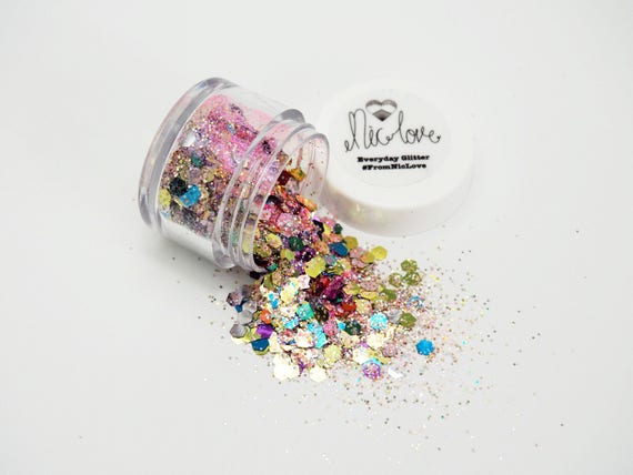Tropical Cosmetic Face Glitter