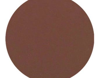 Cafe, 26 mm Pressed Matte Eyeshadow, Dark Brown, Pressed Mineral Eyeshadow