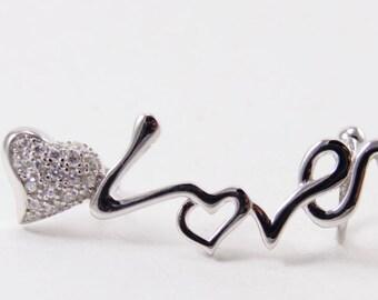 Zircon 925 Sterling Silver Earring Handmade Jewelry