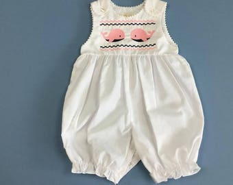 Whale Knickers - Faux Smocking