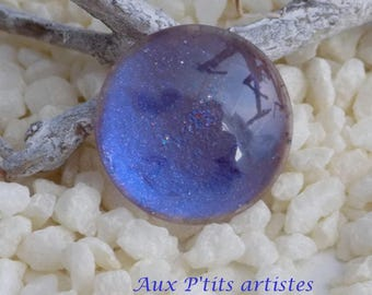 hand painted cabochon glass 20 mm