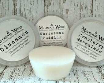 Soy Wax Choose Scent Wax Tart Melt - Hand Poured in Scotland - 10 hours scent