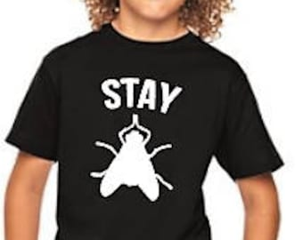 Stay FLY Shirt ~ Cool Kid's Shirt ~ Kid's Graphic Tee