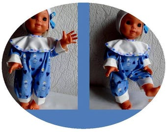 Outfit clothes for doll 35-38 cm Corolla falca raynal little colin
