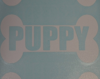 Puppy Bone Decals