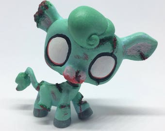 Zombie Littlest Pet Shop Custom