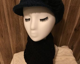Teal Green Newsboy Hat