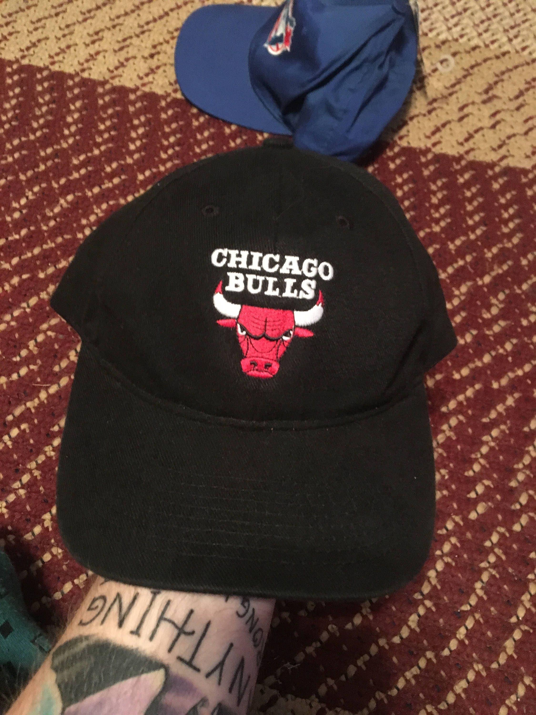5450495bf5b227 ... discount code for 90s chicago bulls vintage logo 7 strapback baseball  cap hat snapback michael jordan ...