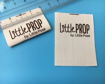 300  Cotton Printed Label, Cotton Sewing Labels, Name Labels, Personalized Labels, Cotton Care Label, Knitting label, Crochet labels