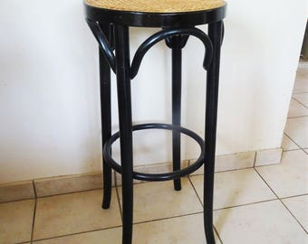 Stool café bistro in the style of Thonet bentwood