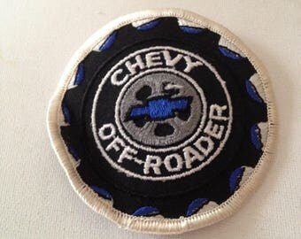 Chevy Off-Roader Patch Rare