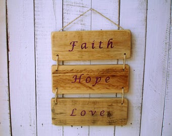 Wood Sign, Rustic Sign, rustic reclaimed up-cycled wood - by MT-rustico