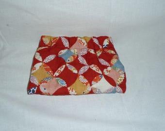 Flexi-close cotton purse