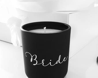 Personalised Luxe Soy Candle (Large) (custom wording available)