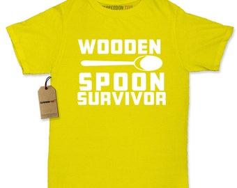 Wooden Spoon Survivor Womens T-shirt