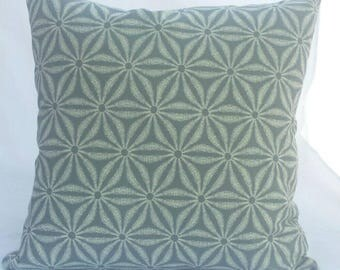 Sale!!! Indoor/Outdoor White and Grey cushion cover. Tommy Bahama fabric.  Multiple sizes available.