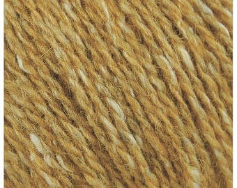 Rowan Felted Tweed 160 - 10.25 +1.25ea to Ship - Gilt 160 Gold + FREE Patterns Shown - MSRP 12.95.