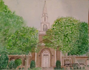 WATERCOLOR WEDDING VENUE